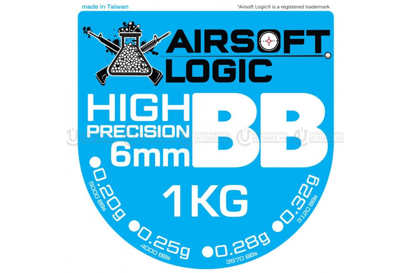 AIRSOFT LOGIC 0.25G BB (1KG)
